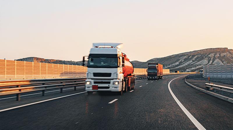 Truck, Tanker Danger Petrochemical Delivery